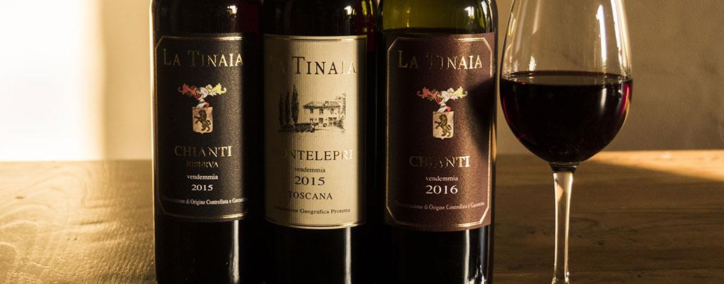 Vini prodotti a Firenze